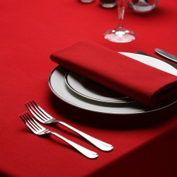 Nappe 90x90 signature plus rouge