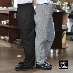 Pantalon cuisinier poche cargo