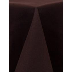 Nappe carrée 54x54 brun