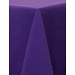Nappe carrée 54x54 violet foncé