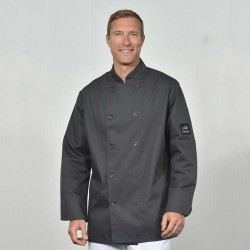 Veston chef gris charcoal 65/35
