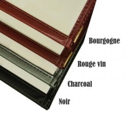 Couverture de menu 2 volets 5x8