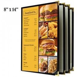Couverture de menu 4 volets 8x14