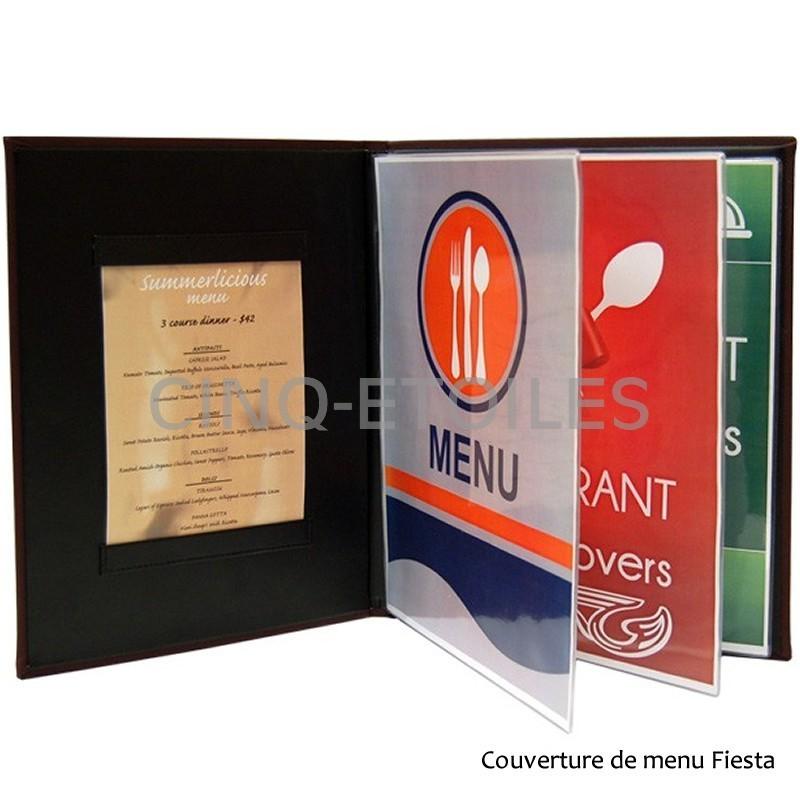 Couverture de menu Fiesta