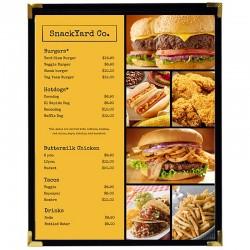 Couverture menu 1 volet 8x11