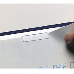 Clip pour menu paquet de 200