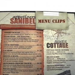 Clip pour menu