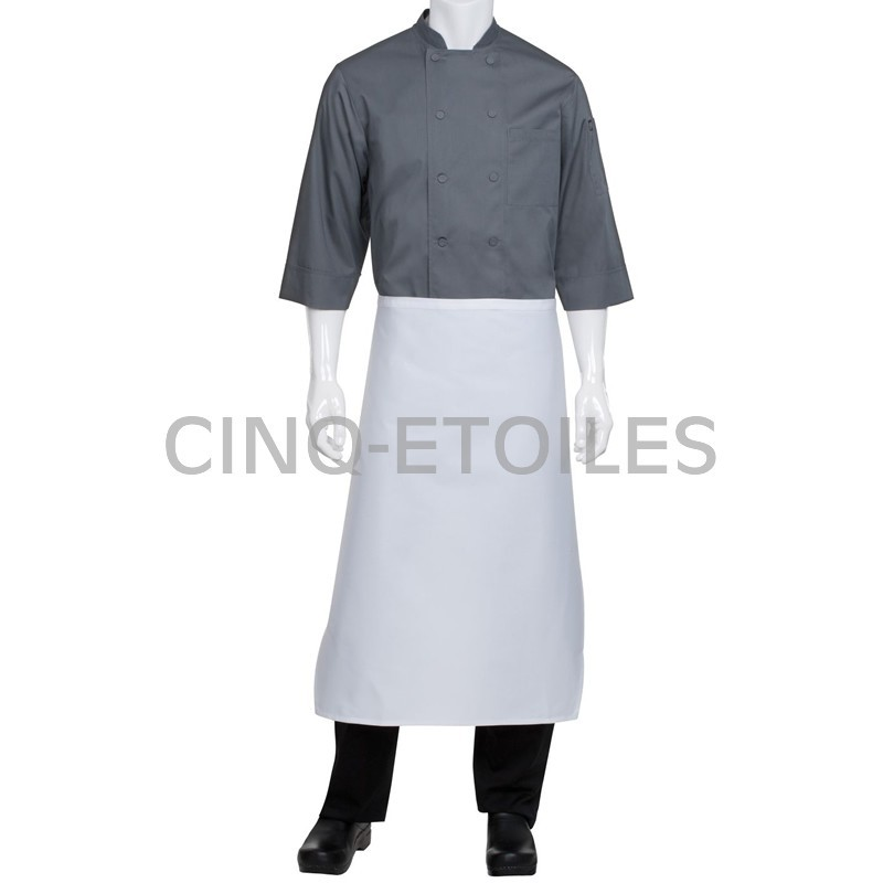 Tablier de cuisine carré long