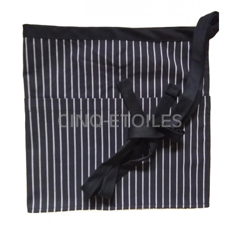 Tablier serveuse gangster stripe
