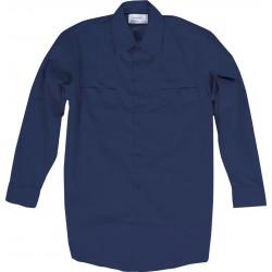 Chemise de travail pour homme bleu marin