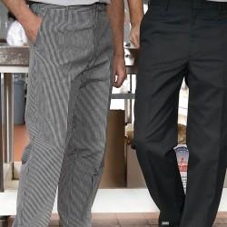 Pantalon de cuisinier pied poule