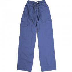 Pantalon de préposé bleu pétrol