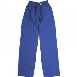 Pantalon de préposé bleu royal