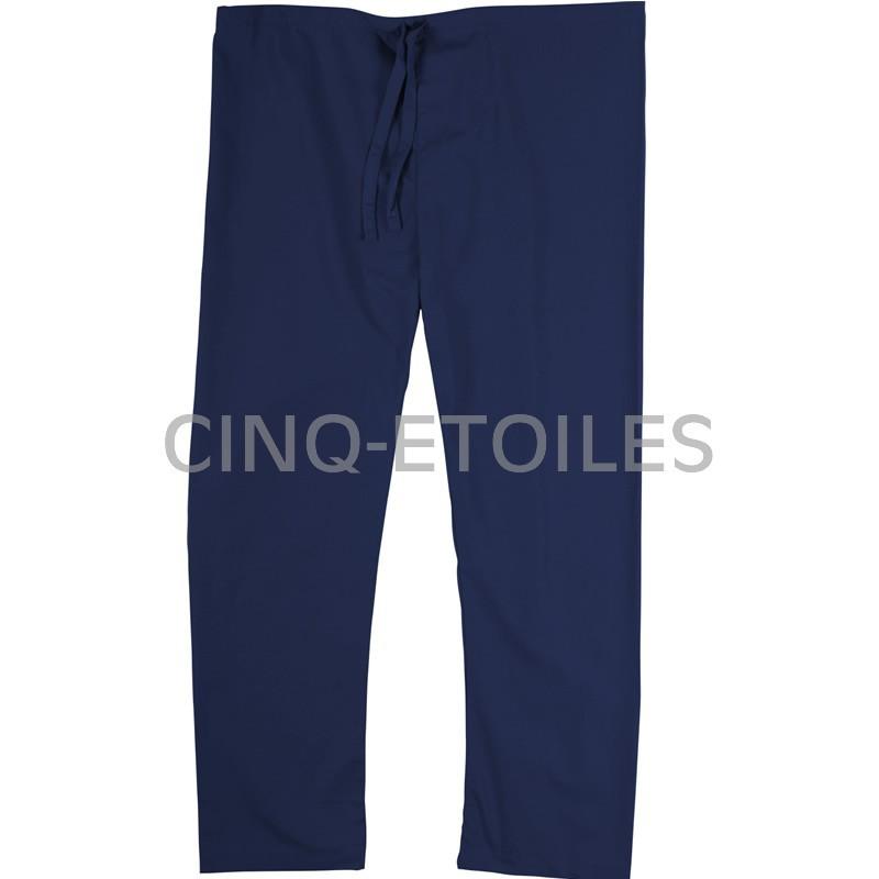 Pantalon de préposé une poche arrière bleu marin