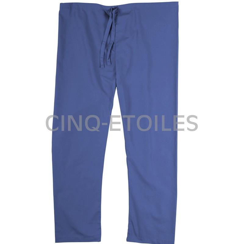 Pantalon de préposé une poche arrière bleu pétrol