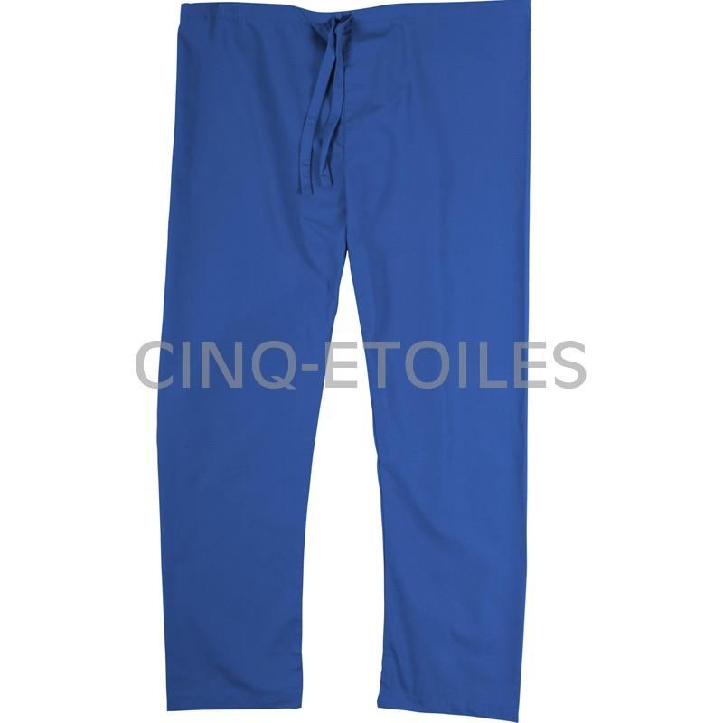 Pantalon de préposé une poche arrière bleu royal