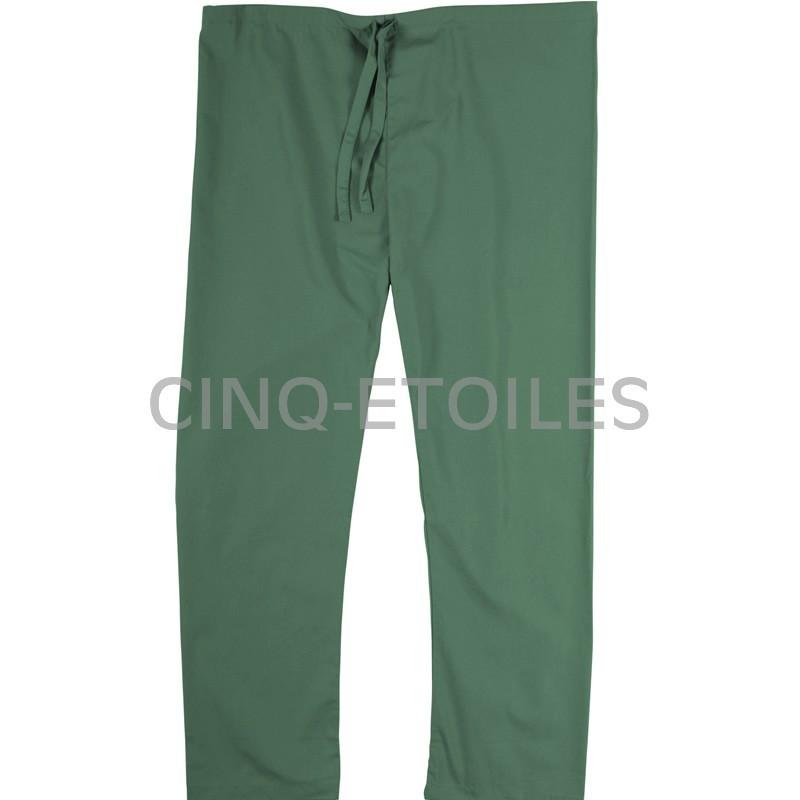 Pantalon de préposé une poche arrière vert lagune