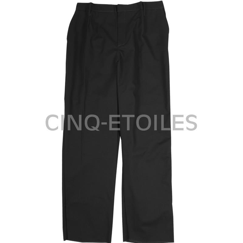 Pantalon de serveuse poly/coton noir