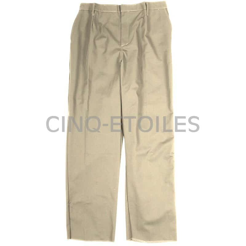 Pantalon de travail pour femme beige tan