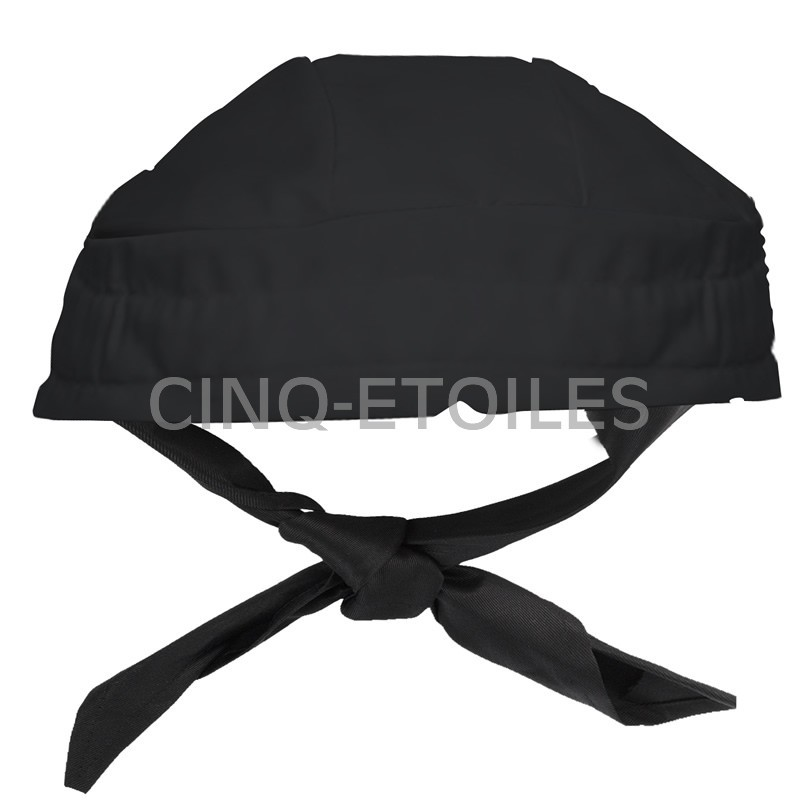 chapeau de cuisinier bandana chapeau de cuisinier bandanatissu 65 polyester 35 coton popeline. Black Bedroom Furniture Sets. Home Design Ideas