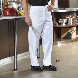 Pantalon blanc multi domaine