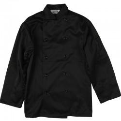 Veste de chef cuisinier noire