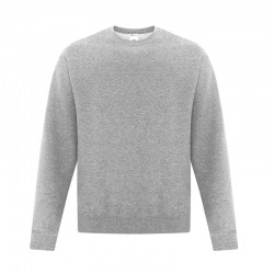 Chandail col rond molleton Homme