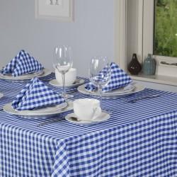 Nappe carreaux 54 x 72 pour restaurant