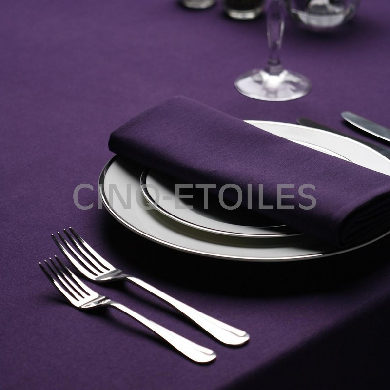 Nappe carrée 45x45 signature plus