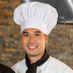 Toque de chef cuisinier blanche