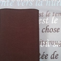 SAMPLE- Serviette Chocolat Visa plus