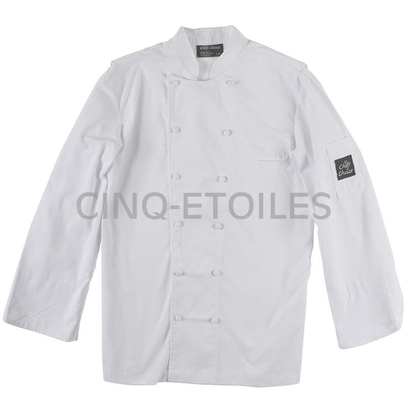 Veste de chef cuisinier classique