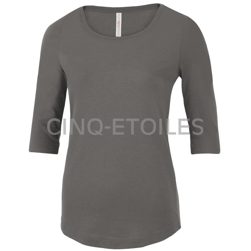 T-shirt pour femme manches trois quart