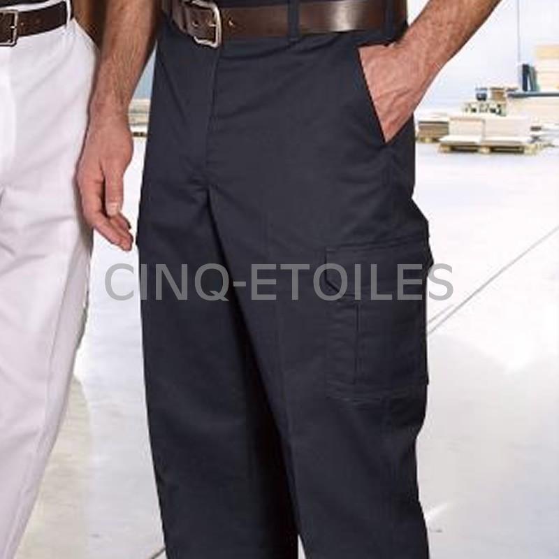 Pantalon de travail poches cargos