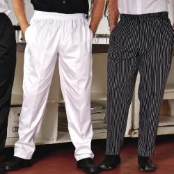 Pantalon cuisinier Gangster taille élastique