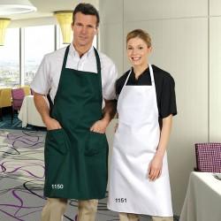 Tablier chef cuisinier ajustable