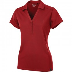Polo rouge pour femme Framework