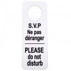 Affiche ne pas déranger et faire la chambre pour porte