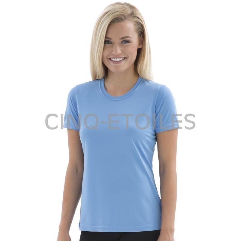 T-shirt col rond pour femme