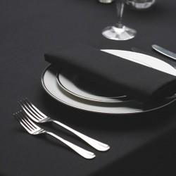 Serviette signature couleur noir