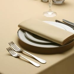 Serviette de table beige