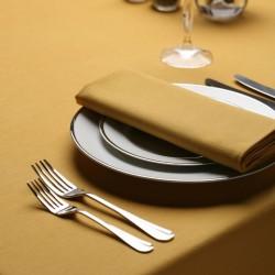 Serviette de table or