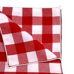 Exemple de la finition de la nappe sans ourlet