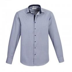 Chemise edge pour homme bleu