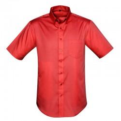 Chemise dalton anti-taches pour homme rouge