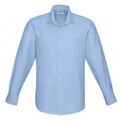 Chemise Homme Preston Manches longues bleu