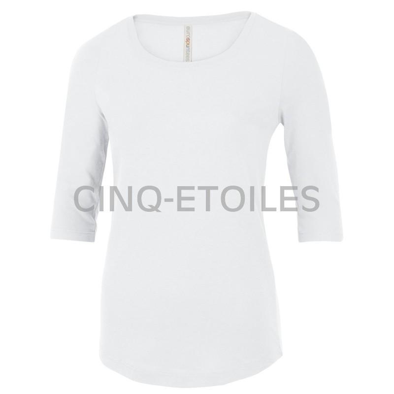 T-shirt pour femme blanc
