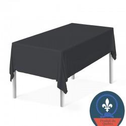 Nappe noire fabriquée au Québec