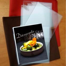 plastique format 5.5'' x 7'' pour desserts, promos et autre