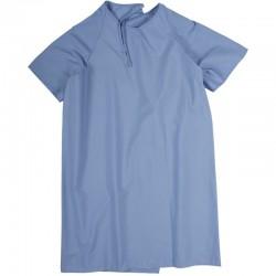 jaquette de patient bleue